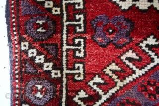 Kiz-Bergama, 1900 - 1920, natural colors.  Dowry gift.