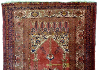 Ersari Beshir, 19th century, fine knotted, great shine, old repair, see last photo. 
