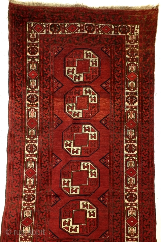 Turkmen Ersari, 1910- 1920, in very good condition, high pile.