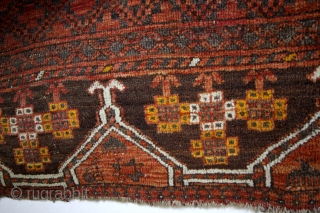 early Ensi Hatchlou, 1880 , natural colors. 200 x 165 Cms. 