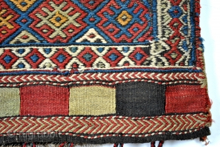 Complete bag, Shahsavan, silk on wool. 