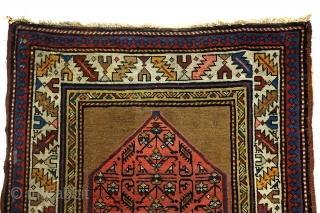 Antique runner Kazak, Derbent north Caucasus. 