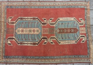 Caucasian Lenkoran, end of 19th cent., 170 x 118 cm.