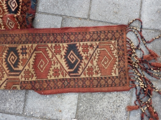 "Ersari Kapunuk, 97 x 43 x 145 cm, 38"" x 17"" x 57""."