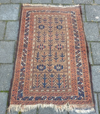 Antique dated ( 1911 ) Malayer runner, NR