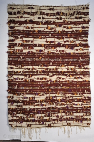 Tapis de Selle - sadddle cover - Morocco - Zemmour, Middle Atlas Mountains