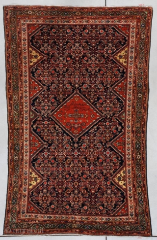 #7382 Fereghan Antique Persian Rug 4'2″ X 6'5″