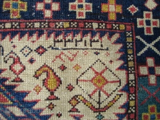 #6611 Shirvan antique Rug