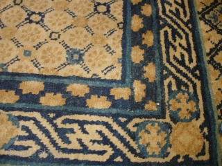 #6882 Very Antique Chinese Rug