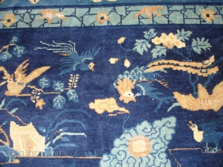 """#6888 Peking Chinese Rug       This Peking Chinese rug measures 12'0"""" by 14'5"""" (371 x 441 cm).   This is the greatest Chinese of its type that I have EVER  ..."""