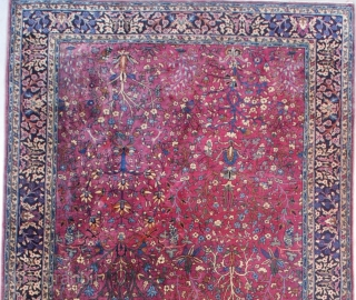 #7549 7'x14' Antique Sarouk