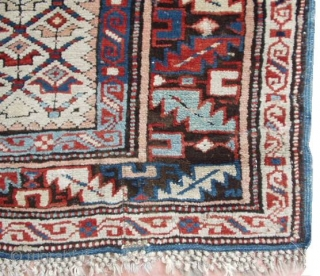#6160 Kuba Antique Caucasian Rug 