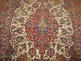 PAIR of Antique Isfahan Persian Rug 4'9″ X 7'1″ #7751/7752