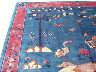 """Peking Chinese #5983          Size: 9'2"""" X 11'4""""   - See more at: http://www.antiqueorientalrugs.com/Rchinese6.htm#sthash.i3k7taX1.dpuf"""