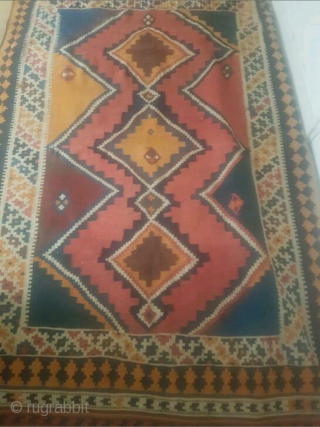Antique Qashqai melki, size: 240 x 145 cm. In good condition