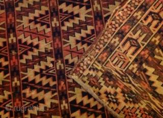 2 Turkmen Asmalik, 122 x 60'cm, nice design, good colors