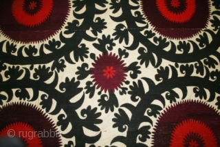 I am delighted to offer to you the wonderful and mysterious world of Uzbek textile. Fully engraved into Central Asian cultures, embroideries serve as prime examples of Uzbek folk art traditions. Suzanis,  ...