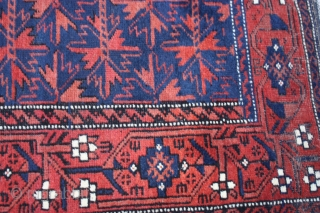 Antique Baluch Rug,