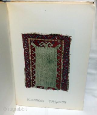 Samples of the Old Turkish Carpets and Kilims / Eski türk halilarindan ve kilimlerinden örnekler Turkish Islamic Arts Museum Istanbul: Sümerbank, 1961.  88 pp. 40 offset color plates. 13.5 x 19 Hardback in chipped dustjacket  ...