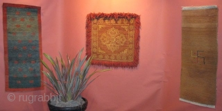 """Some highlights from the Piccus Collection of Tibetan Rugs at Asian Art, San Francisco February, 2012.  The Book,""""Sacred & Secular: The Piccus Collection of Tibetan Rugs"""" is available at the show  ..."""