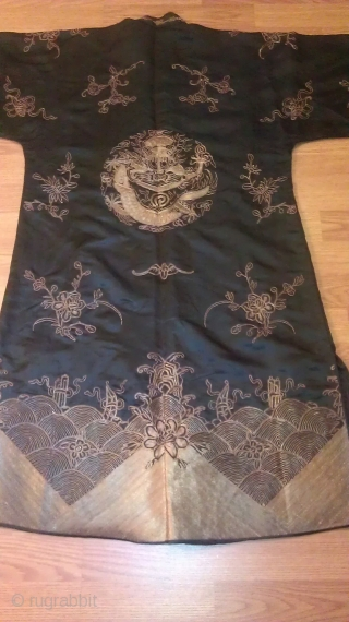 Chinese Old Dragon Robe excellent condition.