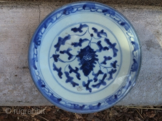 19th Century Chinese plate. Excellent condition.