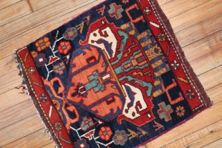 Antique Bakhtiar Sampler mat 1'8''x1'10''
