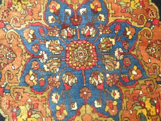Antique Halvai Persian Bidjar.  Mint untouched condition. 2'3''x2'6''