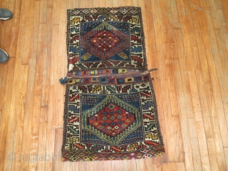 Antique NW Persian or Kurdish DOuble Bagface.  Full pile condition.