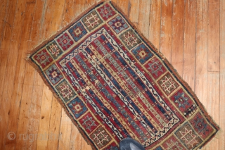 Antique Sivas Sal central Anatolian 1'10''x2'11''.  Collectors piece.  Condition is a bit damaged.  But this is a real antique.