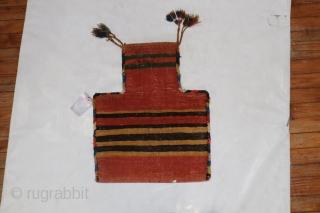 Antique Persian Salt bag.  Excellent condition
