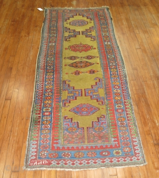 Antique persian Serab rug??  Dated...  Decorative And Awesome size of 3'3''x8'