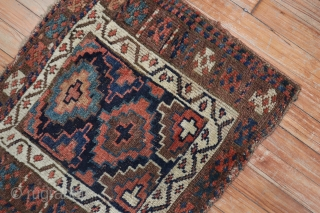 Antique Jaff with cross. 1'11''x2'2''