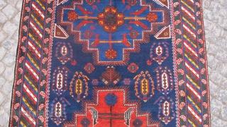 Caucasian Shirvan Khila rug wonderful colors and excellent condition all original size 3,00x 1,55 cm full pile Circa 1900-1910