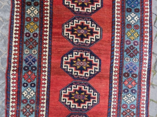 Antique very nice colors runner all original memnulk gul size 4,05x1,05 cm Circa 1890-1900
