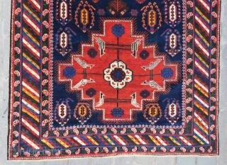 Caucassian Khila shirvan carpet all original and excellent condition size 2,98x1,55 cm Circa 1900 to 1910