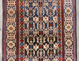 Caucassian Shirvan Konagent wonderful colors and excellent condition all original size 1,78x1,03 cm Circa 1900