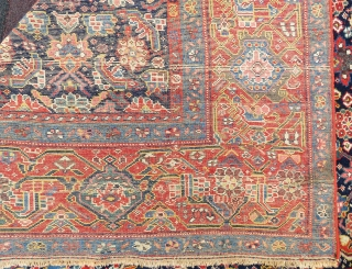 Malayer Gallerie Carpet wonderful colors and excellent condition all original size 5,20x2,08 cm Circa 1900-1910