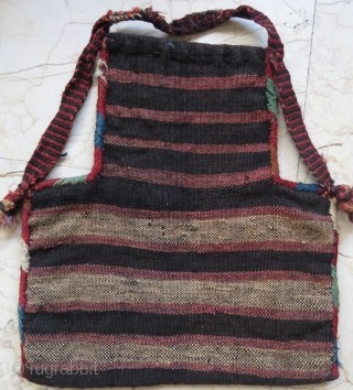 Caucassian salt bag werneh technic wonderful colors and excellent condition all original size 37x34 cm Circa 1900-1910