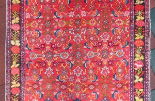 Karabagh Rug wonderful colors and excellent condition all original size 3,90x1,54 cm Circa 1900