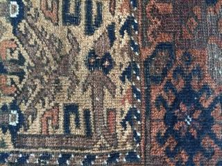 Baluch rug Circa 1880 138x75