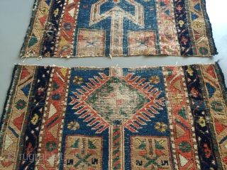Antique Baghshayesh runner 