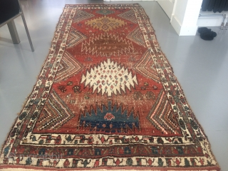 Antique Kurdish Koliai runner 
