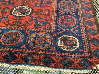 Antique baluch bagface  80x60 cm