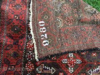 Baluch rug 190x103 cm  Circa 1880