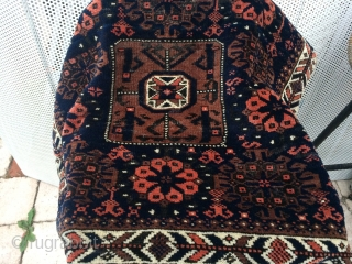 Beluch bag face  Circa 1870  60x70 cm