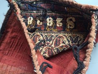 Antique Afshar bag, 50x44 cm