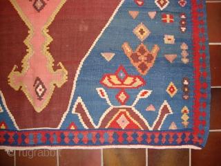 Bidjar kilim, Special size, 310 x 165 cm. Excellent Condition! Circa 1900