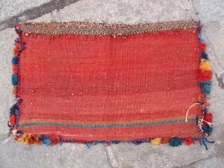 Lovely Afshar complete bag. 19th century. ca.50x30cm. 