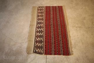 2 pieces Türkmen  1-126X83 2-127x85